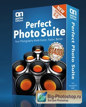 Perfect Photo Suite [ for Adobe Photoshop and Adobe Photoshop Lightroom, V.5.5, x86 + x64, ENG ]