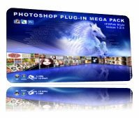 Mega Pack + FXPack Style Volume 1-2-3 (Photoshop Plugin)