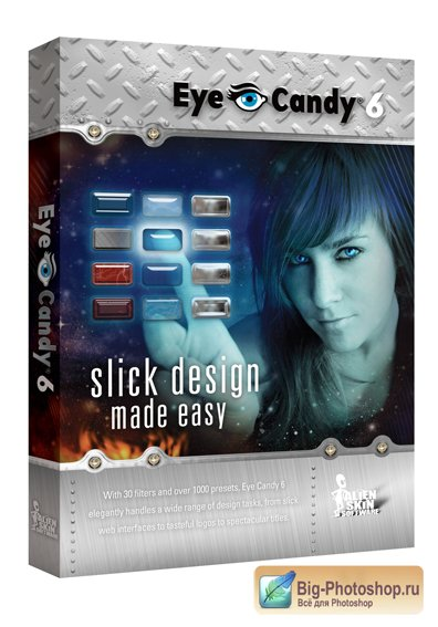 Alien Skin Eye Candy 6.1.0 (6.5.8) for Adobe Photoshop