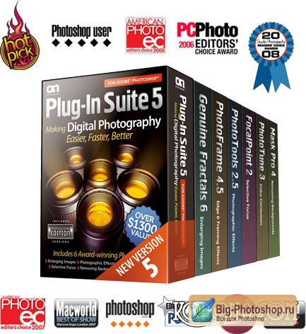 OnOne Plug-In Suite 5.1.2 for Photoshop (32/64-bit)