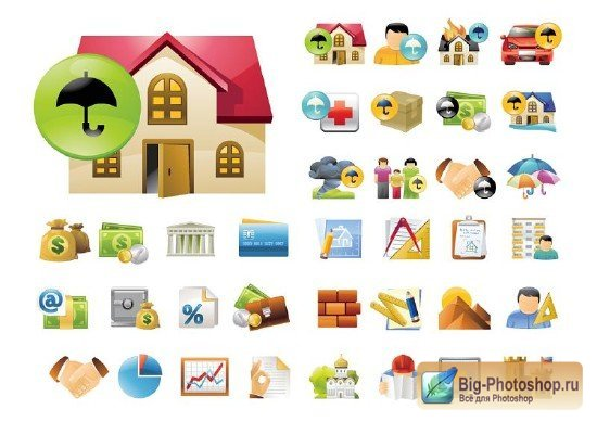 Windows иконки Home & Family Icons