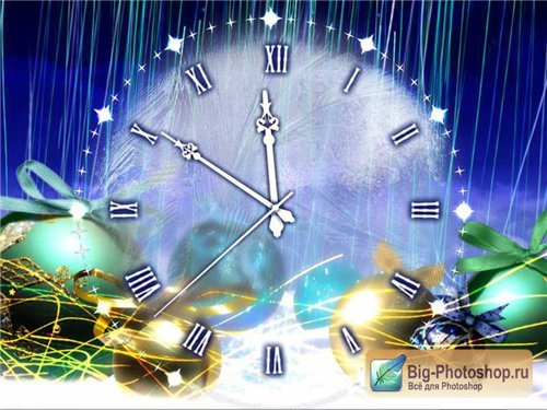 Christmas Clock Screens