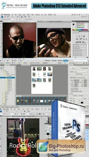 Total Training - Adobe Photoshop CS5 Extended Advanced