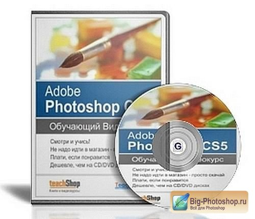 Видеокурс Adobe Photoshop CS5 от TeachVideo (RUS/2010)RIP