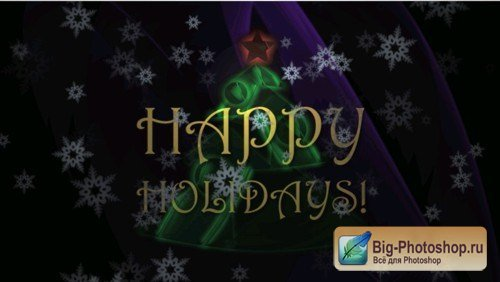 VideoHive motion Happy Holidays