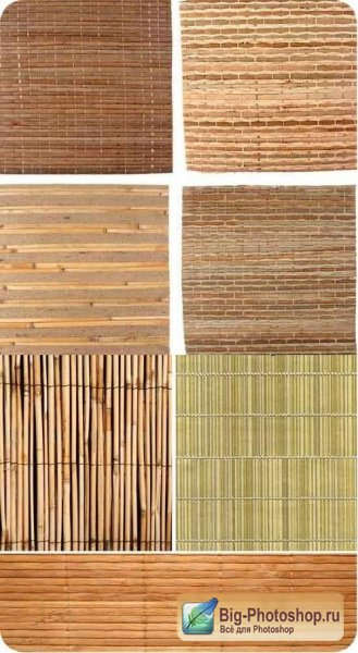 Bamboo Background Set