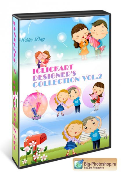 iClickart - Designer's Collection Children Vol.2