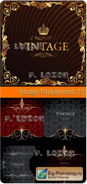 Vintage Backgrounds 22