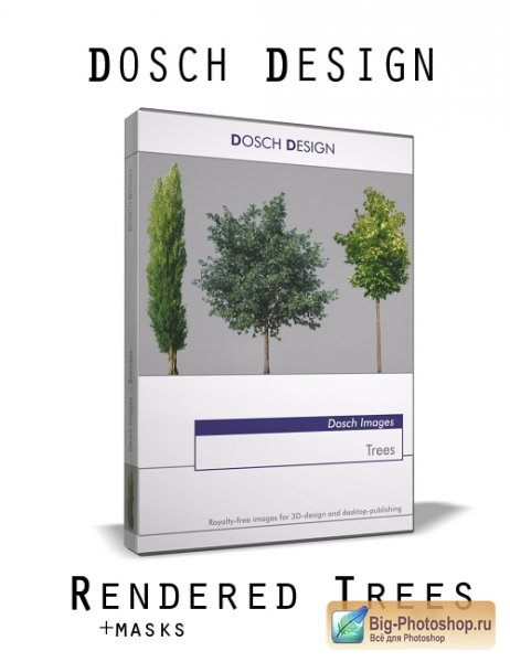 Dosch Design - Rendered and Real Trees pack