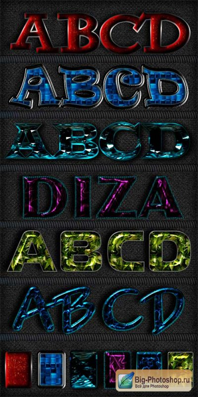 Text styles by Diza - 11