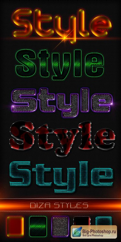 Text styles by DiZa - 24