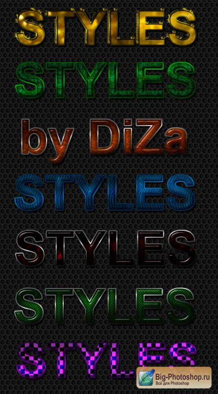 Text styles Photoshop - 15
