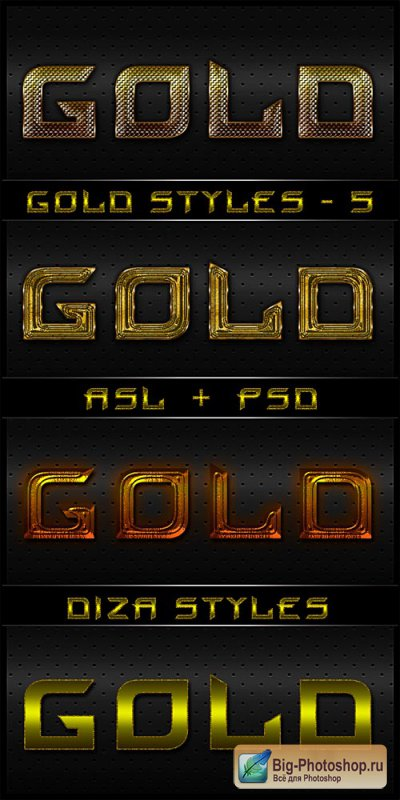 Gold styles - 6