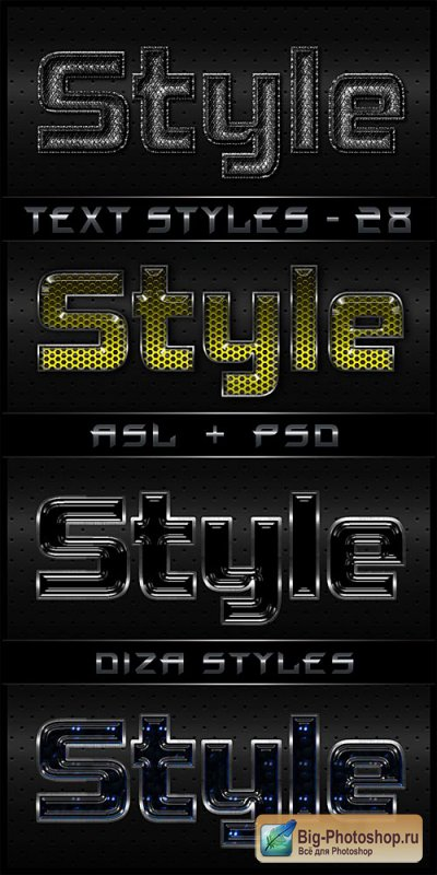 Text styles by DiZa - 28