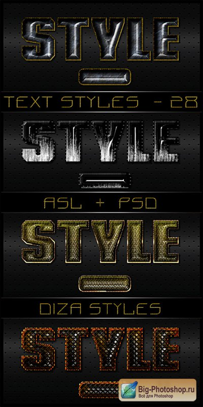 Text styles by DiZa - 29