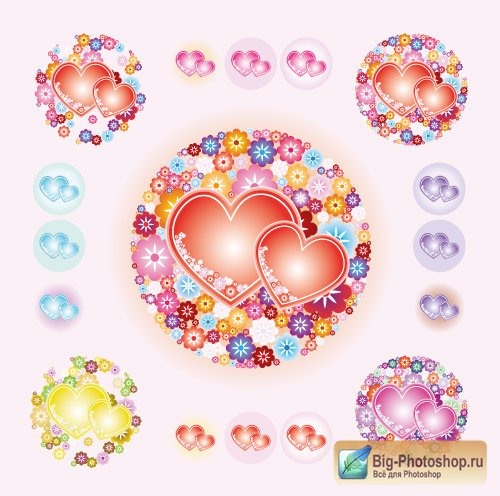 Цветочки сердечки allday ru — портал обо