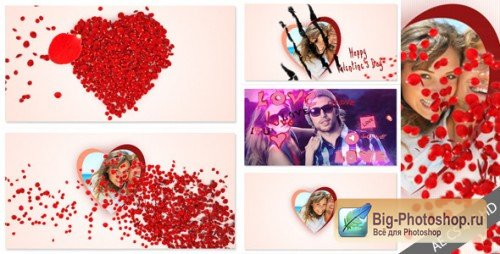 Videohive After Effects Project - Roses and Valentine's Day