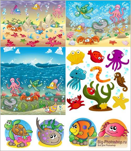 Кораллы картинки для детей
