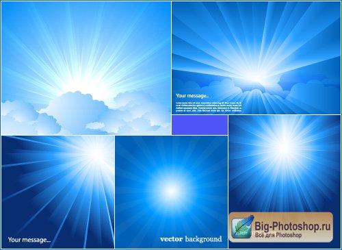 кисти для фотошопа солнечные лучи: