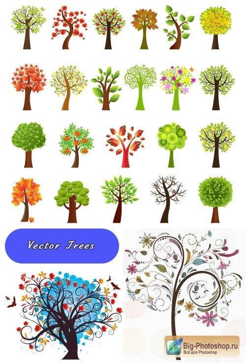 Ветки деревьев клипарт