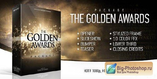 The Golden Awards Package - Project for After Effects (VideoHive)