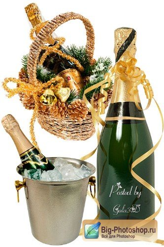 Clipart  - Champagne
