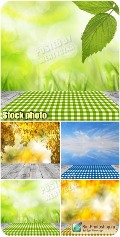 Природные фоны / Natural background - raster clipart