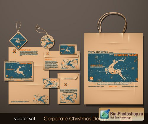 Business style brochures (Vector)