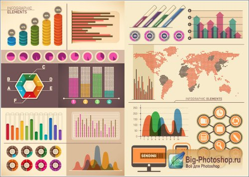 Business infographics (Vector)