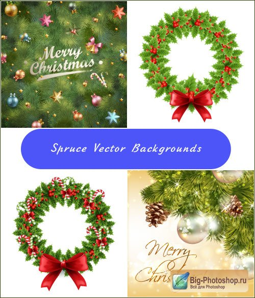 New Year & christmas clipart 2 vector