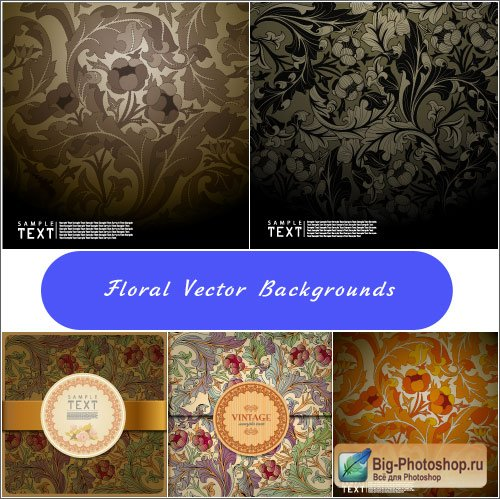 Dark backgrounds colors pattern (Vector)