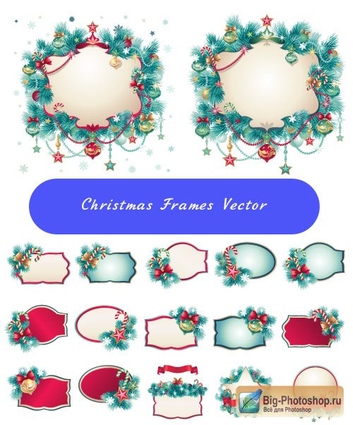 Christmas clipart spruce (Vector)