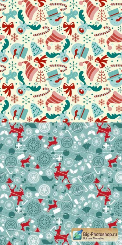 Christmas background items 27 vector
