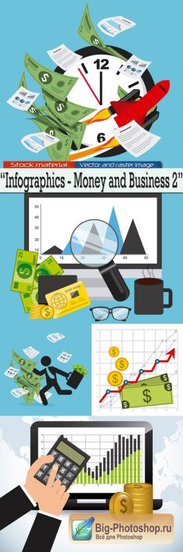 Infographics - Money and Business 2