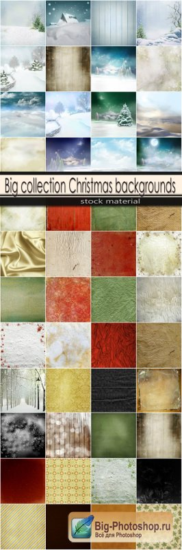 Big collection Christmas backgrounds
