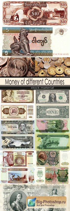 Money of different Countries