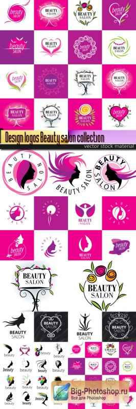 Design logos Beauty salon collection
