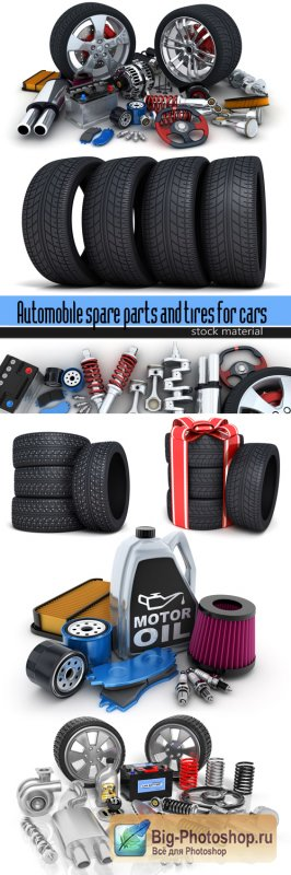 Automobile spare parts and tires for cars