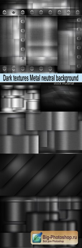 Dark textures Metal neutral background