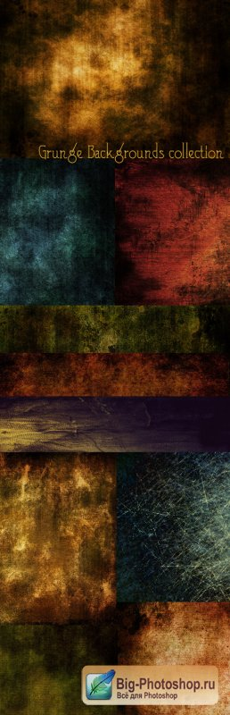 Grunge Backgrounds collection