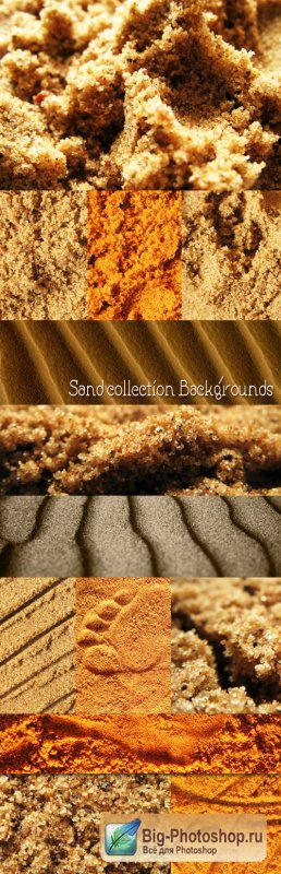 Sand collection Backgrounds