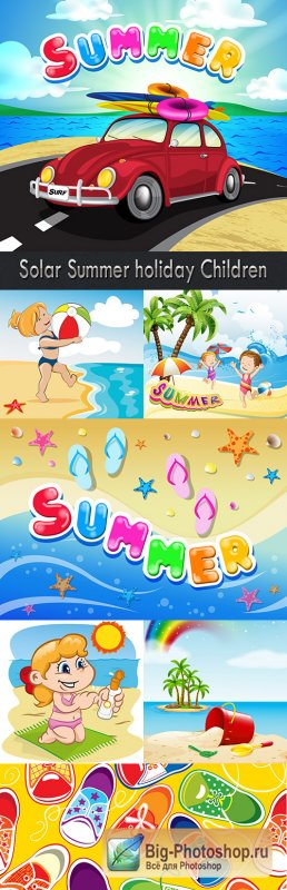 Solar Summer holiday Children
