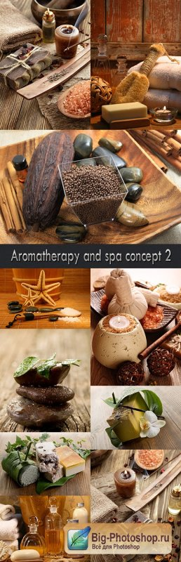 Aromatherapy and spa concept 2