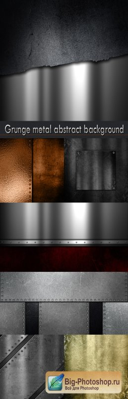 Grunge metal abstract background