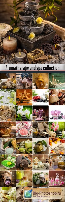 Aromatherapy and spa collection