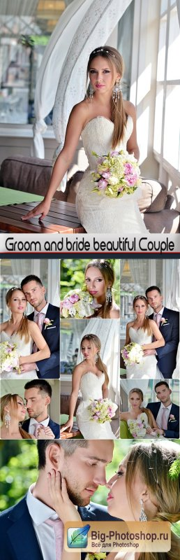 Groom and bride beautiful Couple