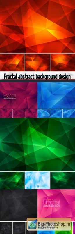 Fractal abstract background design