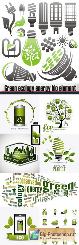Green ecology energy bio element