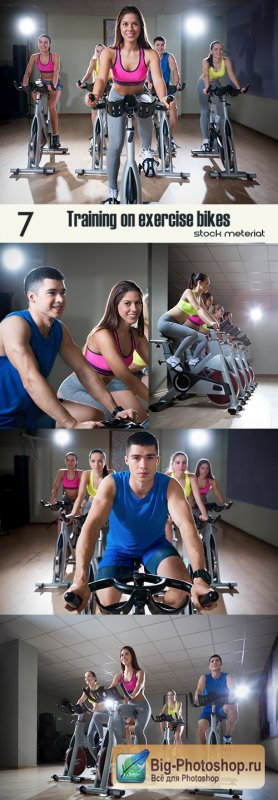 Training on exercise bikes