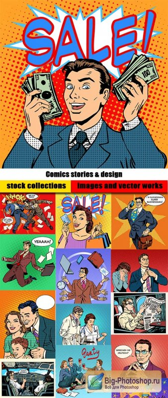 Comics stories & design
